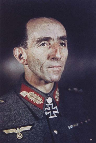 Il generale Fridolin von Senger und Etterling.