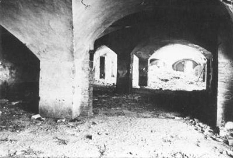 i sotterranei dell'Ospedale Maggiore