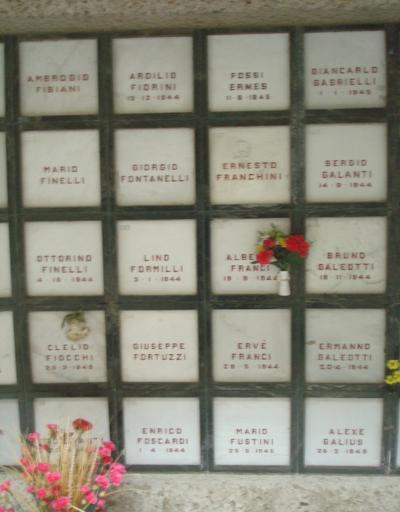 la tomba di Franchini Ernesto