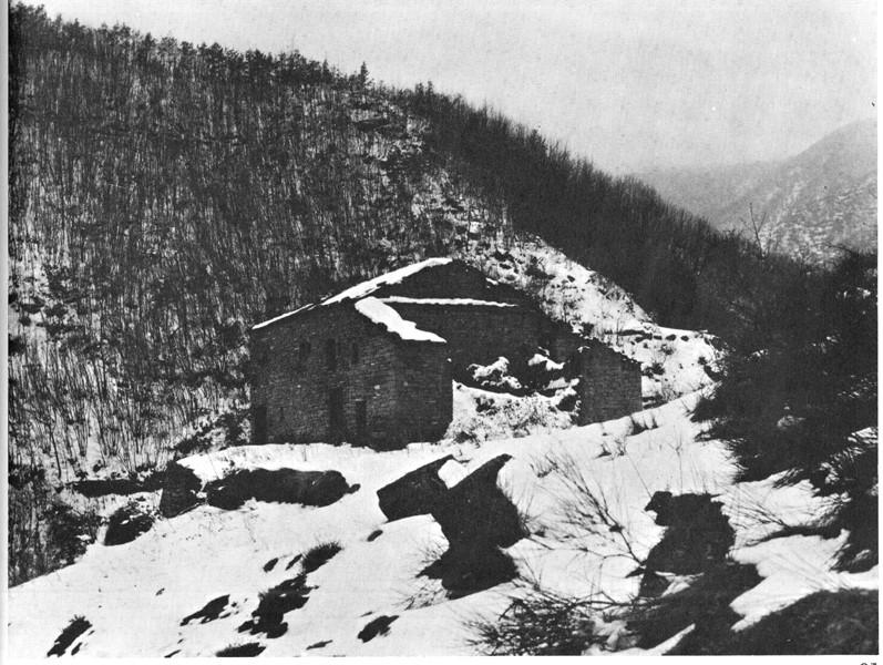 Albergo di Cortecchio (Castel del Rio). La prima base della 36a brigata Garibaldi Bianconcini.
