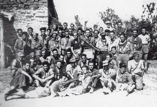 Partigiani della 36a nella zona di Cà di Malanca. www.camalanca.it
