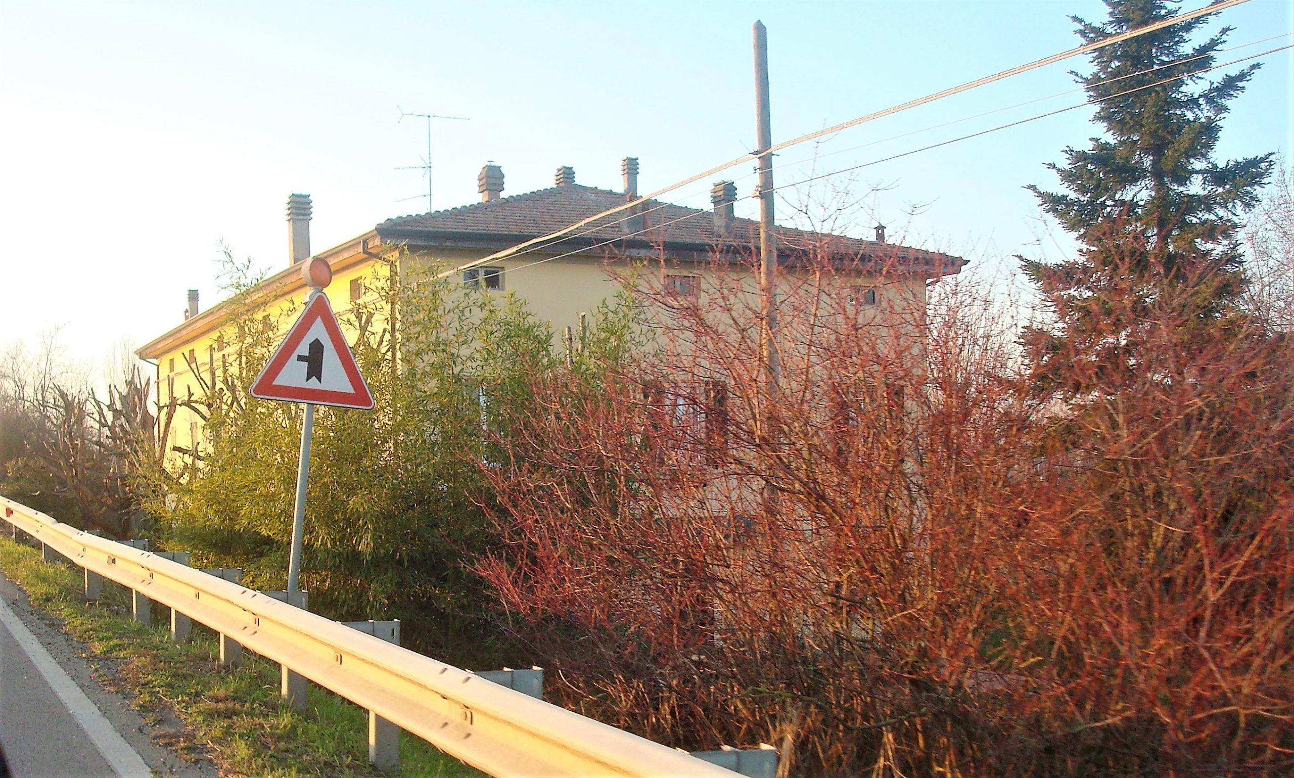 Villa Avoni oggi, vista dalla san Vitale.