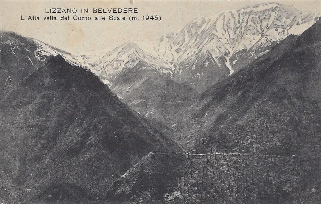 Lizzano in Belvedere, l'Alta Valle del Corno alle Scale (m. 1945).
