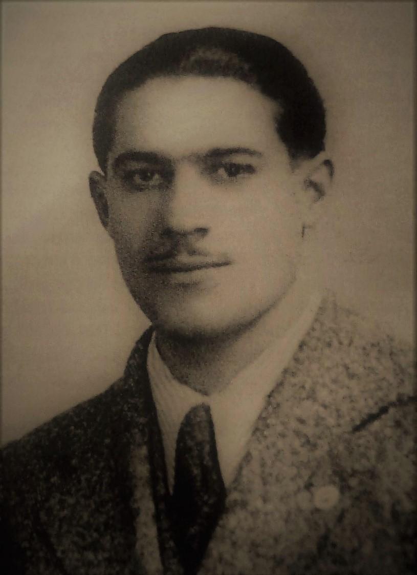 """Salvatore Bagattoni. In """"Il Professor Salvatore Bagattoni, mio padre, martire del nazismo"""" di Pier Giorgio Bagattoni, Nanni editore."""
