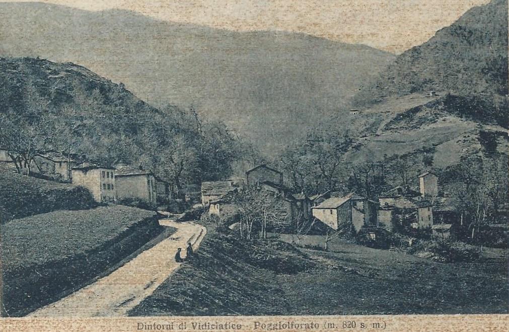 Dintorni di Vidiciatico, Poggiolforato (m.820 s.l.m.).