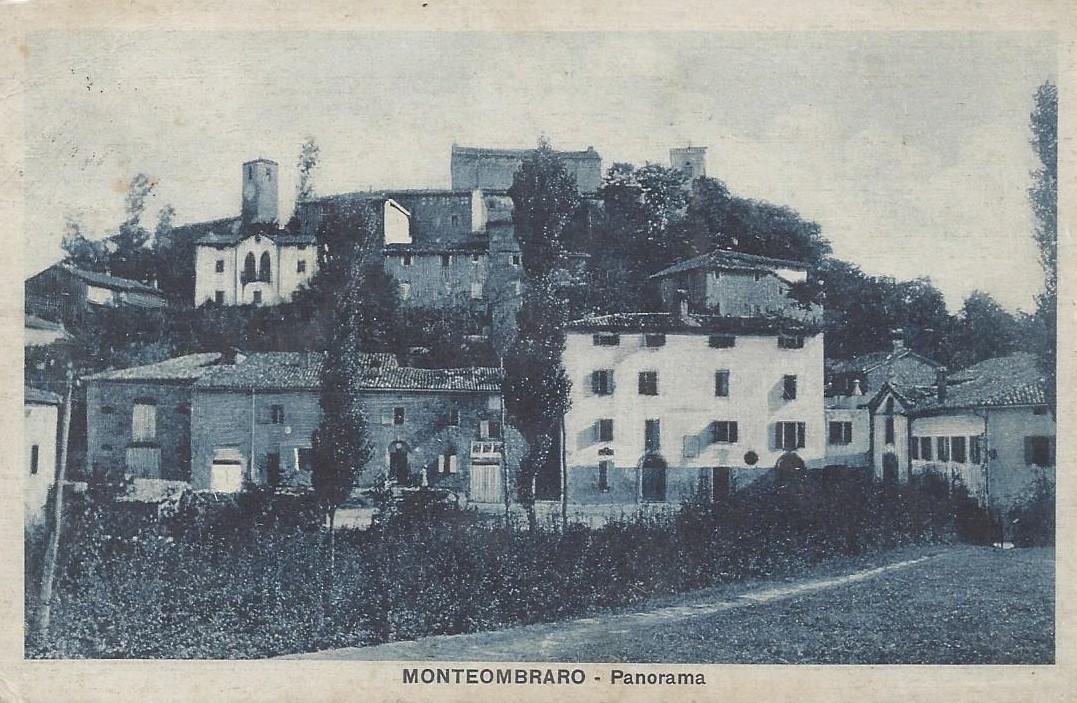 Panorama di Monteombraro 1928.