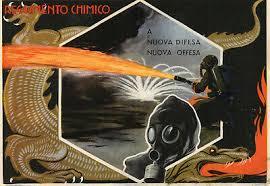 Cartolina militare del Reggimento Chimico di Roma-Coll. priv. M. Bergamaschi.
