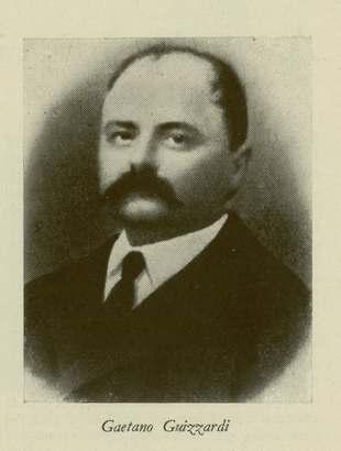 """Gaetano Guizzardi, nella foto pubblicata nell'ottobre 1935 dalla rivista mensile """"Il comune di Bologna"""" in http://badigit.comune.bologna.it"""